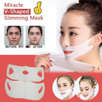 Miracle V-Shaped Slimming Mask Anti Wrinkle Chin Neck Line Cheek Lift Up Slim