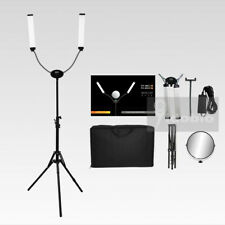 Yidoblo 50W 360°Adajustable LED Double Arms Long Strips Fill Light For Makeup