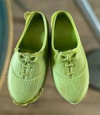 HTF VINTAGE SINDY DOLL GREEN SHOES FOR MITZI ? 1960'S