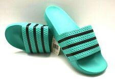 Adidas Adilette Mens Slides CQ3100 Green/Black Sz US 12 FREE SHIPPING BRAND NEW