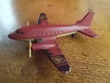 2003 MATTEL SB62 Plane AIRLINER Diecast Aircraft VGC 4 inch Popellor Plane