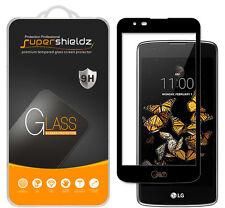 Supershieldz LG Phoenix 2 Full Cover Tempered Glass Screen Protector (Black)