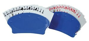 Aidapt Set of 2 Hands Free Playing Card Holder Holds 15 Cards Disability Aid