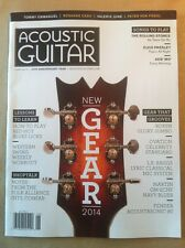Acoustic Guitar June 2014 FREE SHIPPING, New Gear! Lessons To Learn