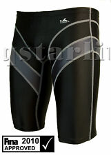 FINA YOUTH MEN BOY RACING SWIM SPLICED JAMMER L 30