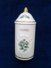 1992 Lenox Spice Garden Pepper Spice jar