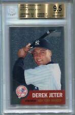 2002 Topps Heritage Chrome 36 Derek Jeter 21/553 BGS 9.5 POP 8 None Higher