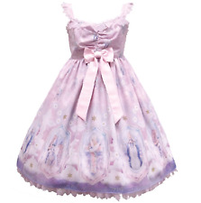 Angelic Pretty Cecilia Cross JSK Dress Pink Sweet Lolita Japanese Fashion Kawaii