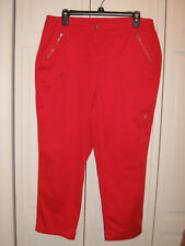 Zenergy by Chicos Cargo Cropped Pant Size 2 (Misses size 12)