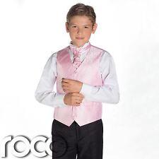 Boys Rosa & Black Suit, Página Chico para , de la Boda , , Remolino