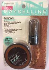 Maybelline Mineral Power Natural Bronzing Veil, SUNSET BRONZE Bronzer .14oz NEW