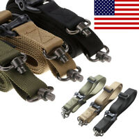 Nylon Retro Tactical Quick Detach QD 1 or 2 Point Multi Mission Rifle Sling USA