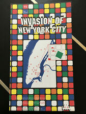 Space Invader Invasion of New York City #11 2003 invasion map
