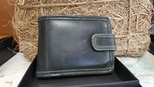 Grays Shenton Wallet In Black Leather GRAYS fine leather wallet