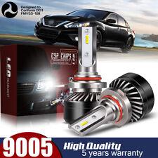 9005 HB3 LED Headlight Bulb Conversion Kit High Beam 60W 12000LM 6000K Lamp DWQ