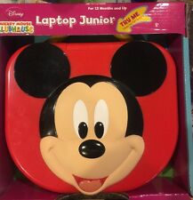 DISNEY MICKEY MOUSE CLUBHOUSE,BABY & TODDLERS LAPTOP JUNIOR,LIGHTS,SOUNDS,NEW