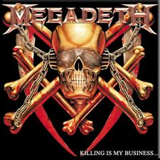 Megadeth Killing Is My Business fridge magnet (cv)