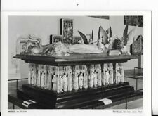 french postcard,musee de dijon,tombeau de Jean sans Peur