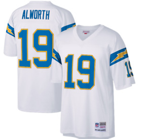 Mitchell & Ness San Diego Chargers #19 Football Jersey New Mens Sizes $150