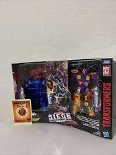 Transformers Siege War for Cybertron Amazon Exclusive Lot Mirage Impactor Aragon