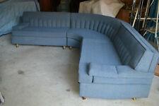 Vtg Lounge Furniture Mid-Century Modern 3-Piece Sofa Sectional Retro