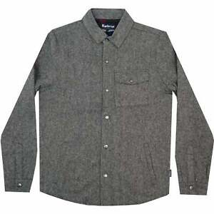 New Mens Barbour Swaldale Overshirt, Charcoal, BNWT