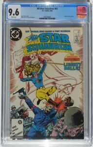 All-Star Squadron #61 JSA Origin Liberty Belle DC Comics Sep. 1986 CGC 9.6 NM+