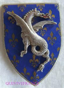 IN8394 - INSIGNE 18° Régiment de Dragons, émail, sans devise