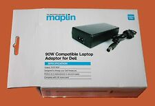 GENUINE MAPLIN DELL COMPATIBLE 90W MAINS LAPTOP POWER  SUPPLY -NEW- RRP=£49.99