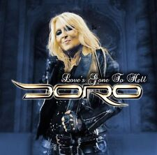 DORO - LOVE'S GONE TO HELL - MAXI CD NEW SEALED 2016 - 6 TRACKS