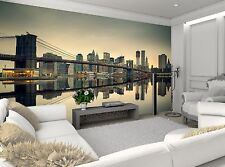 Manhattan at Dusk Photo Wallpaper Wall Mural DECOR Paper Poster Wall art