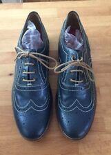 Grenson Navy Blue Leather Brogue Dress Shoes 9.5 UK 11 US Gorgeous!!