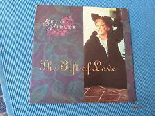 RECORD 45 RPM - BETTE MIDLER - THE GIFT OF LOVE