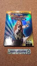 HANNAH MONTANA MILEY CYRUS THE FILM CONCERT / 2D FILM AND 3D / FILM 2 DVD VIDEO