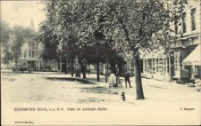 Richmond Hill Long Island NY Park St. TUCK #2007 c1905 Postcard jrf