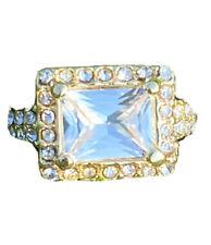 Crystal Diamond Golden Fashion Jewelry Ring