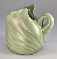 "Vintage Haeger Swan Vase Planter In Green 3.5"" Tall"