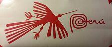 MARCA PERU w Condor Nazca Sticker Decal WHITE or RED