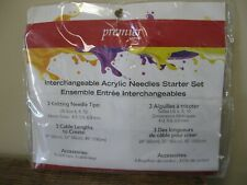 New! Premier Yarns Interchangeable Acrylic Needles Starter Set for Knitting