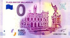 ESPAGNE Valladolid, Plaza Mayor, 2018, Billet 0 € Souvenir