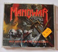 Manowar , Return of the Warlord , Maxi-Single CD 1996 , GED 22172