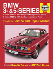 1948 Haynes BMW 3- and 5-Series Petrol (1981 - 1991) up to J Workshop Manual
