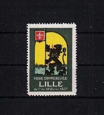 405063/PUBLICITE marque-Foire commerciale Lille 1927 - **