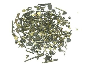 A Pile of Old Toy Train BRASS  Screws / Hardware,  all Misc.Gauges, sizes ,Makes