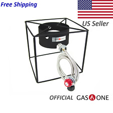 Gas One Portable Collapsible Propane Burner with Propane Hose