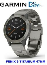 FENIX 6 Pro and Sapphire Editions with vented titanium bracelet 010-02158-23