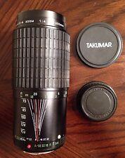 Takumar-A Zoom 70-200mm 1:4 Manual Camera Focus Lens