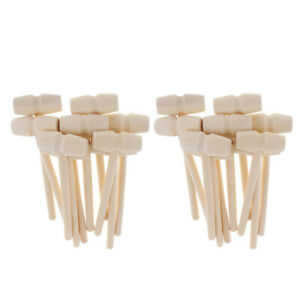 10Pcs Mini Wooden Hammer Kids Toys Crab Lobster Wood Mallet Home Hammer Tool