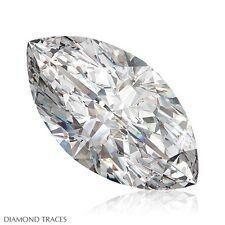 1.70ct I-SI1 VG-Cut Marquise Shape AGI 100% Genuine Diamond 11.71x6.43x3.91mm