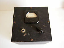 TRIPLETT DC MILLIAMPERS 1/4 INCH JACK PANEL METER BOX 0-1